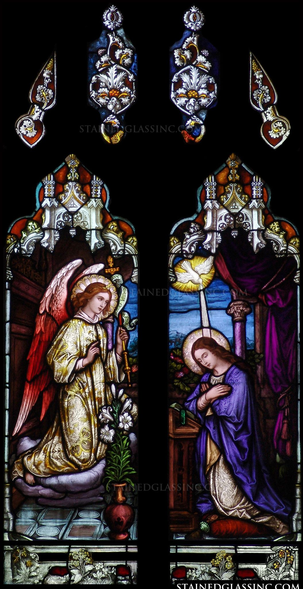 quotannunciation to the immaculate conceptionquot religious