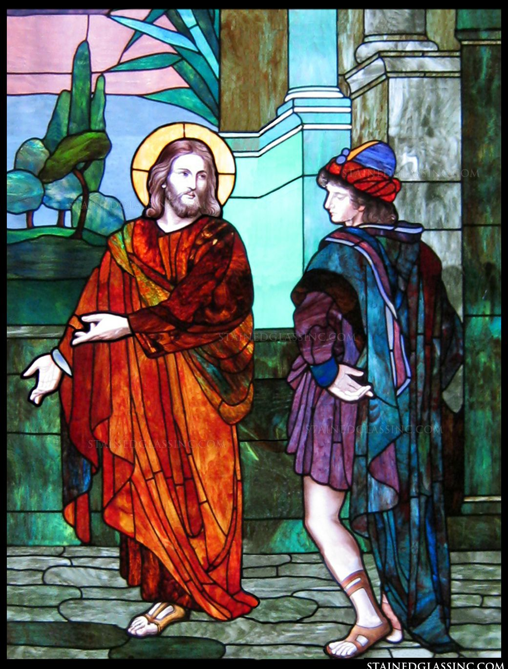 Image result for jesus and the rich young ruler
