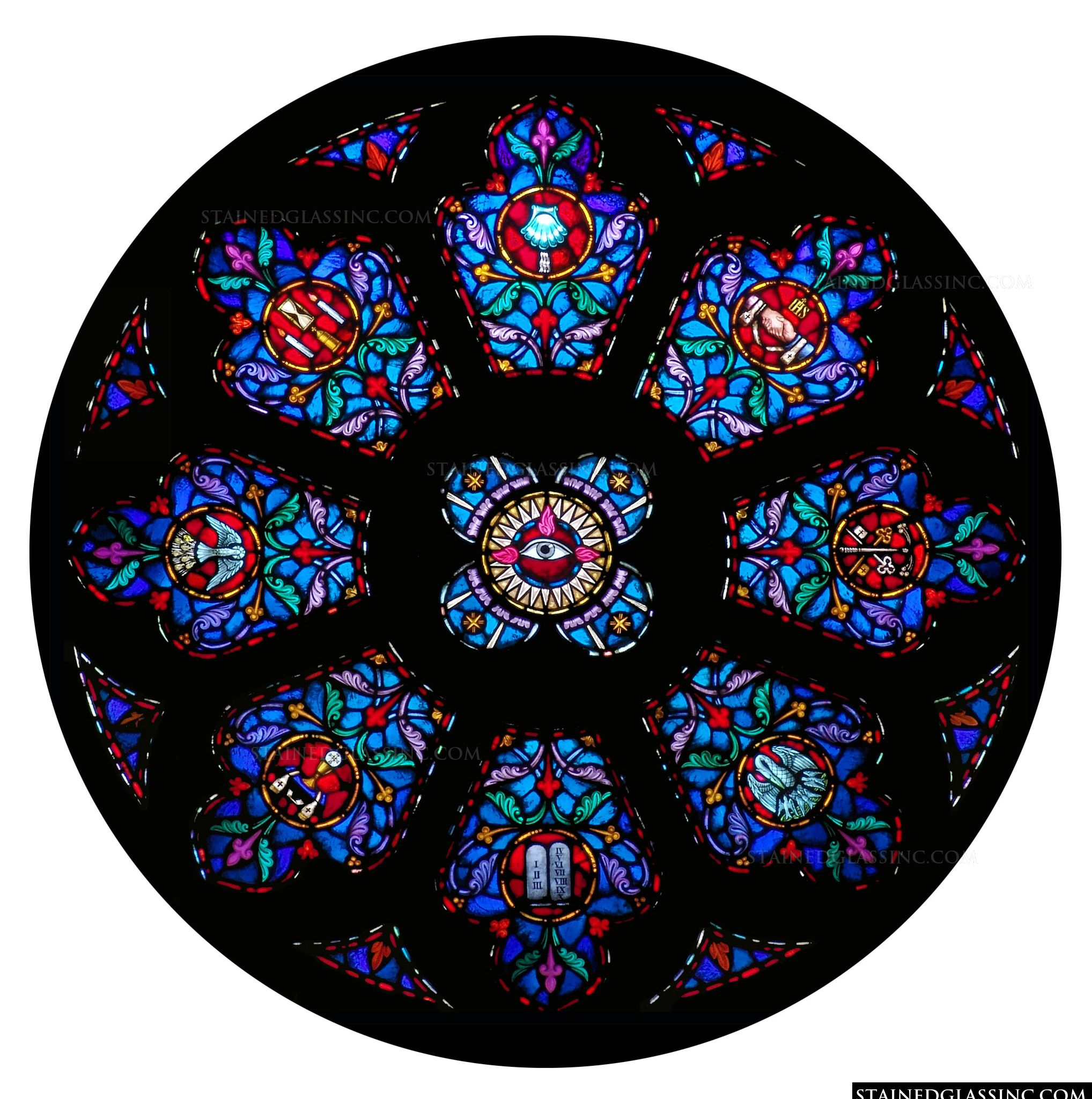 stained glass windows essay Stained glass windows were one of british architecture's first introductions to colour, the patterns adding to their luscious beauty.