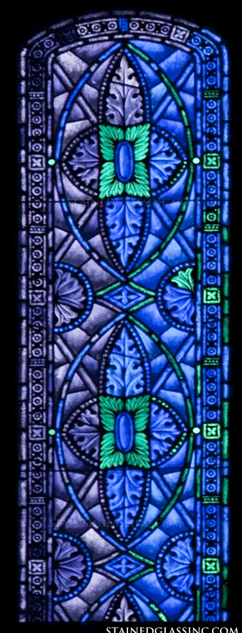 """Jaculum"" Stained Glass Window"