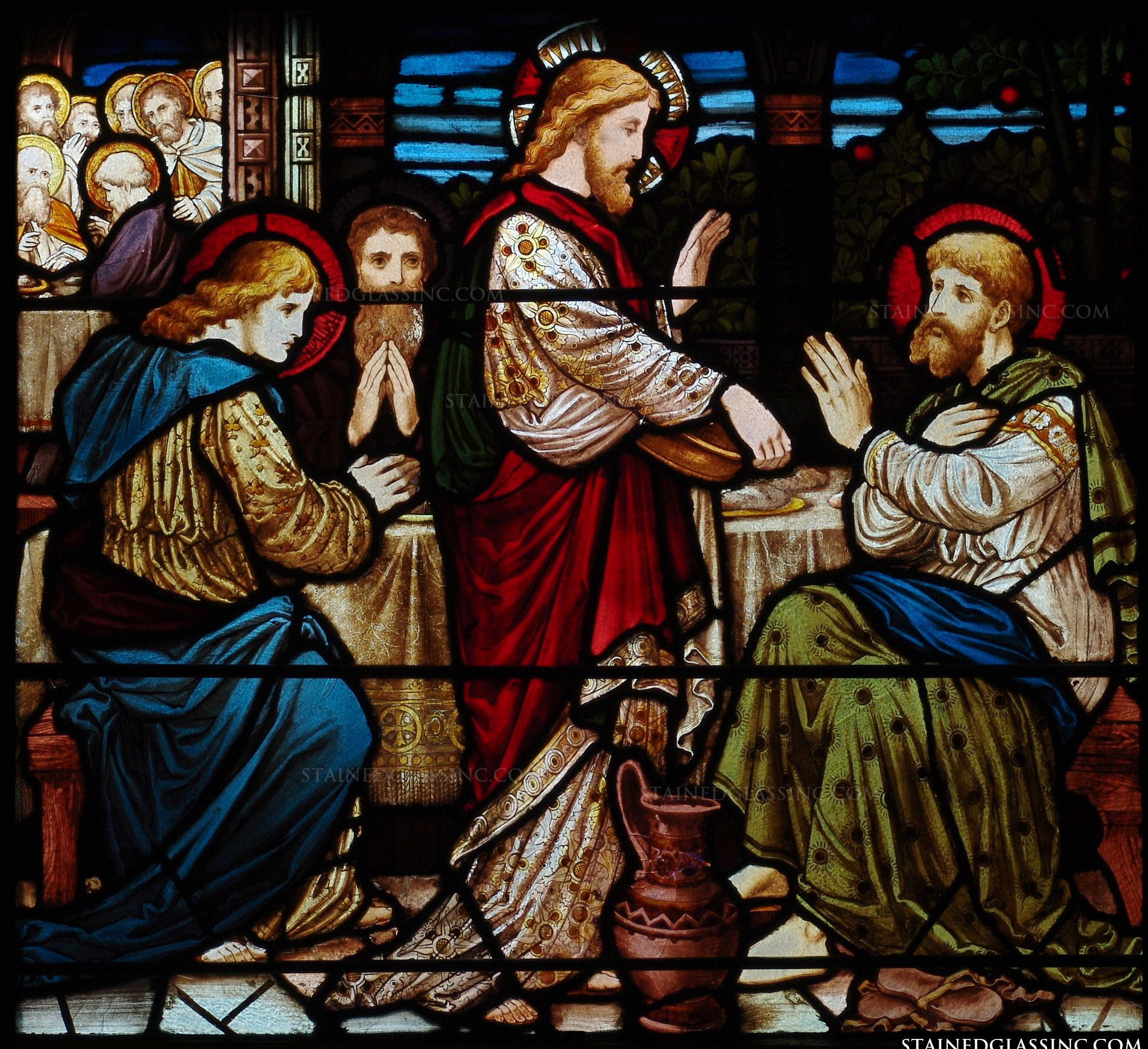 Another Name For Stained Glass