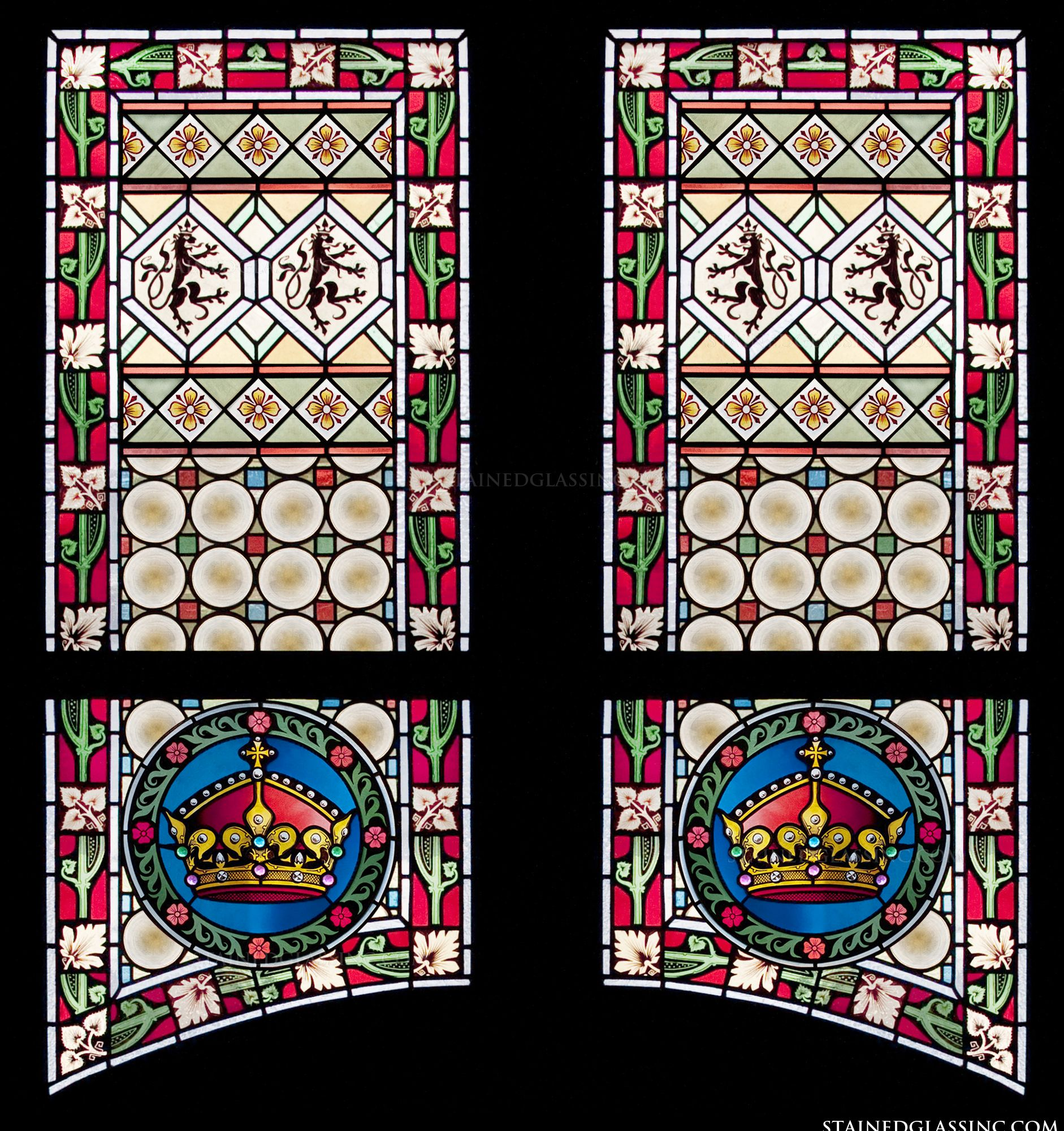 double panel crowns panel 3585
