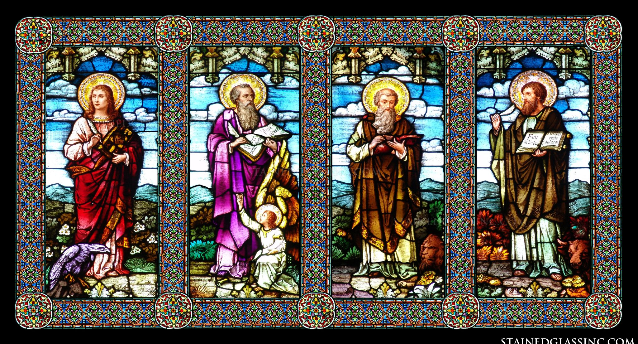 the 4 gospels and their themes Different approach to his theme than either that of mark or luke, even as these  two differ  the four gospels yield their richest treasures to those who put.