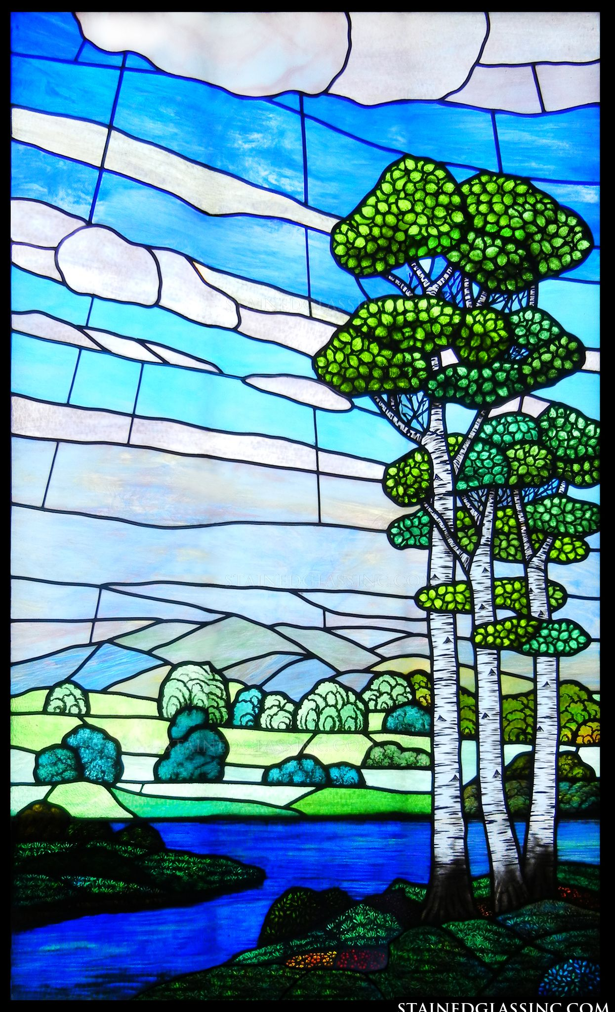 Quot Natural Beauty Quot Stained Glass Window