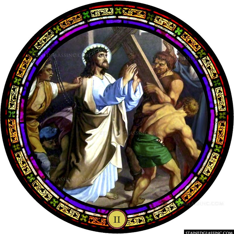Station 2: Jesus Carries His Cross