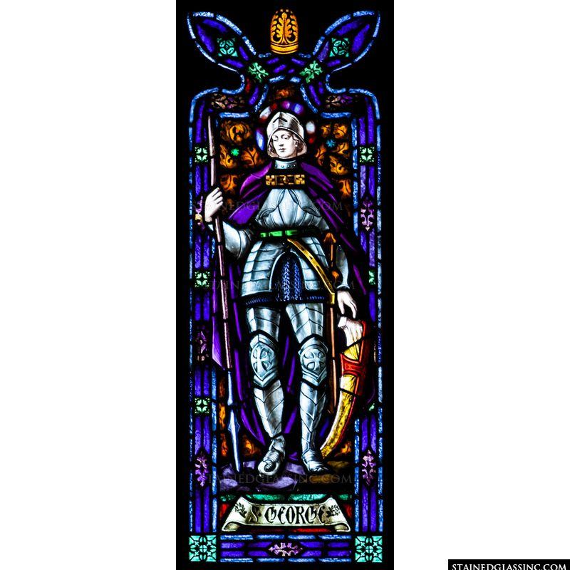 Saint George in Blue