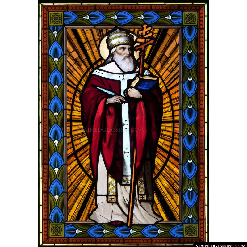 Saint Cornelius with Cross