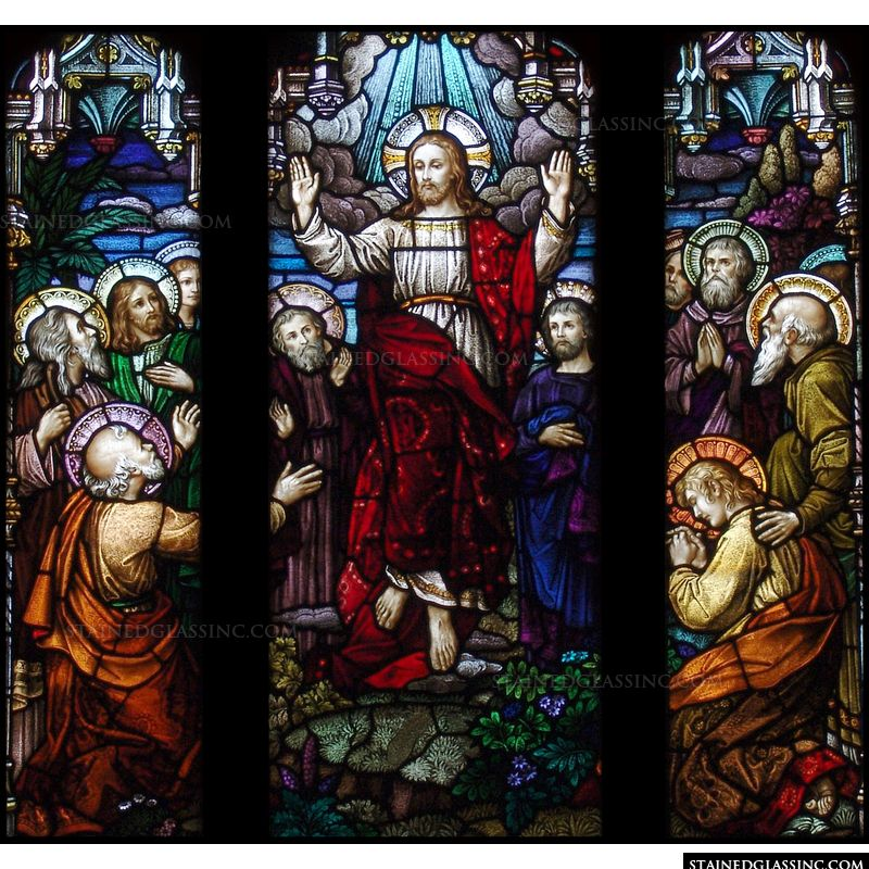 Ascending Christ