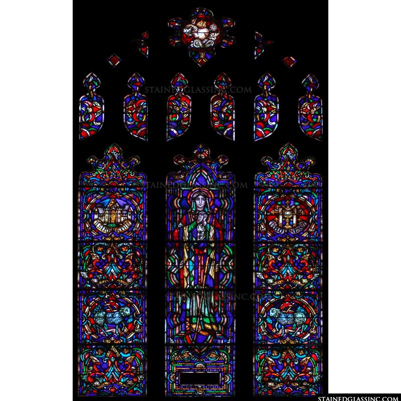 Large Saint Window