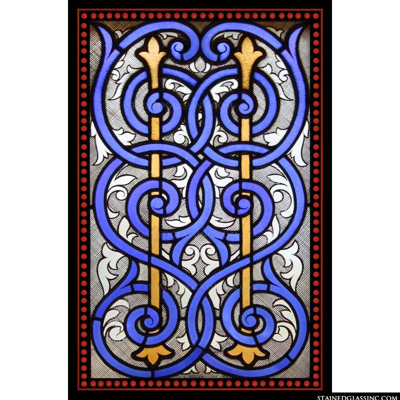 Blue Spirals