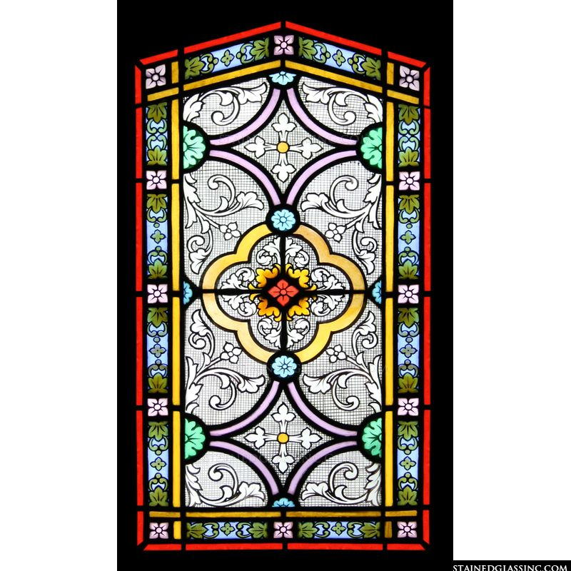 Gothic Flower Panel