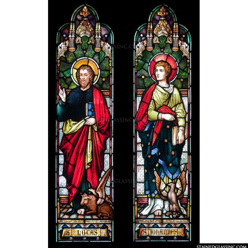 Saints Lucas and Johannes