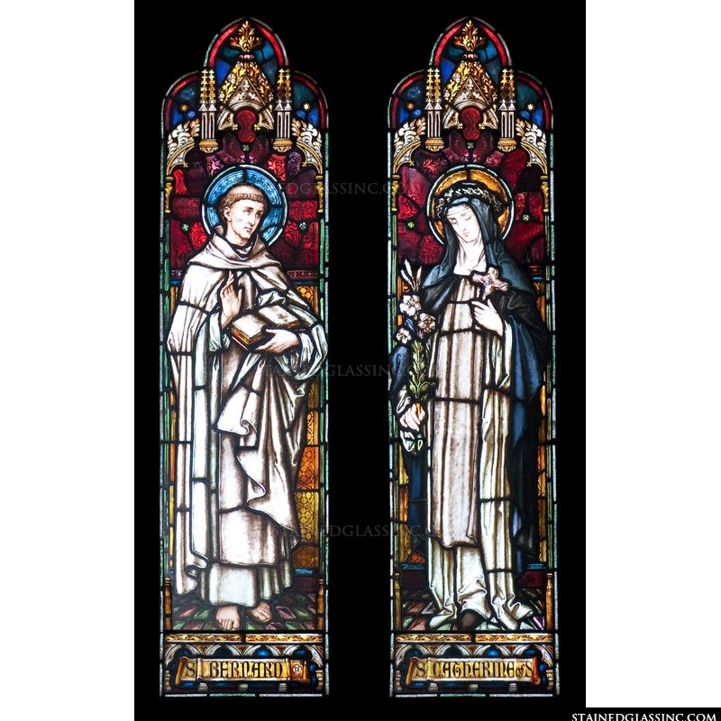 Saints Bernard and Catherine
