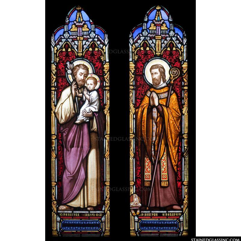 Saints Joseph and Aidan
