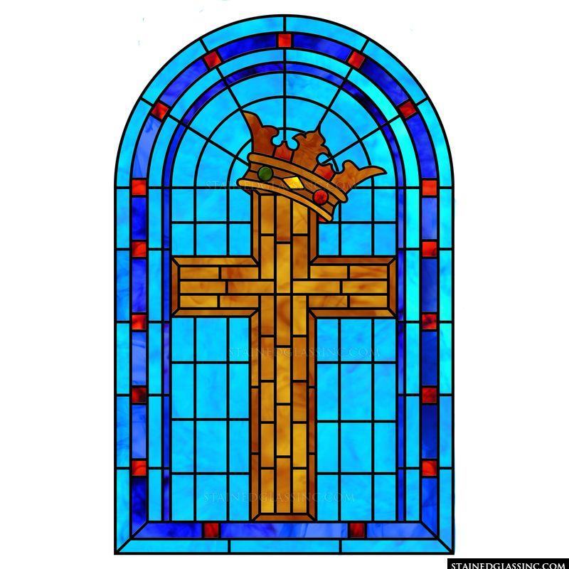 Brickwork Cross and Crown