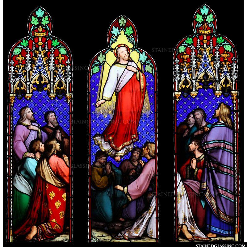 Christ Rising Heavenward