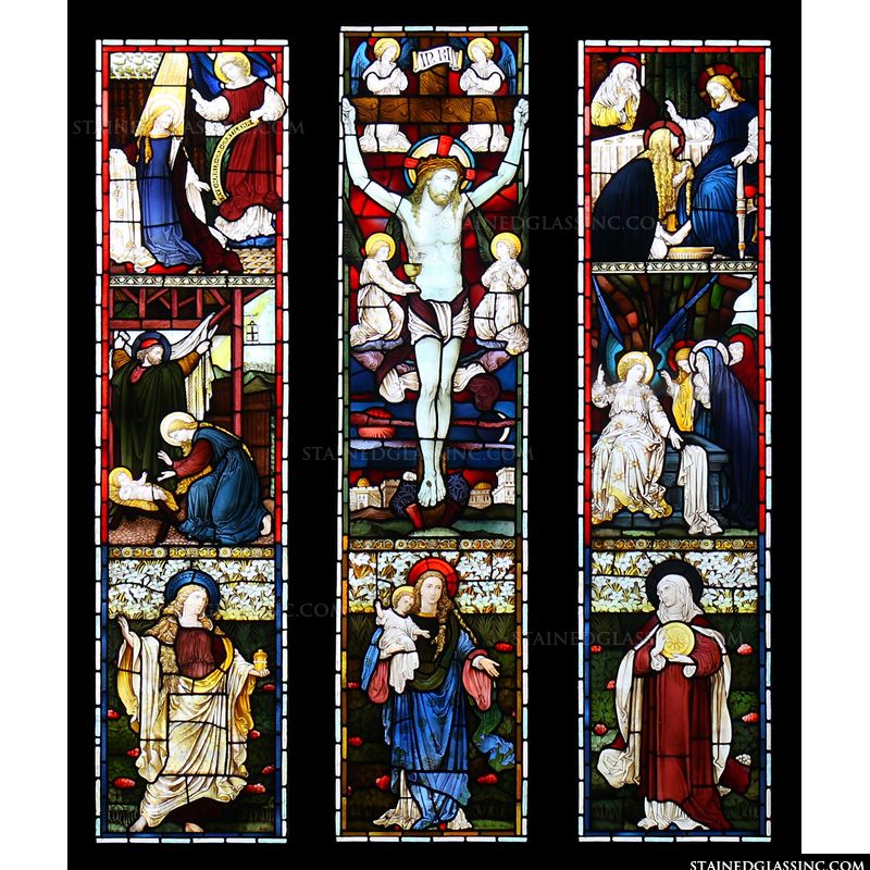 Scenes of Christ and Mary