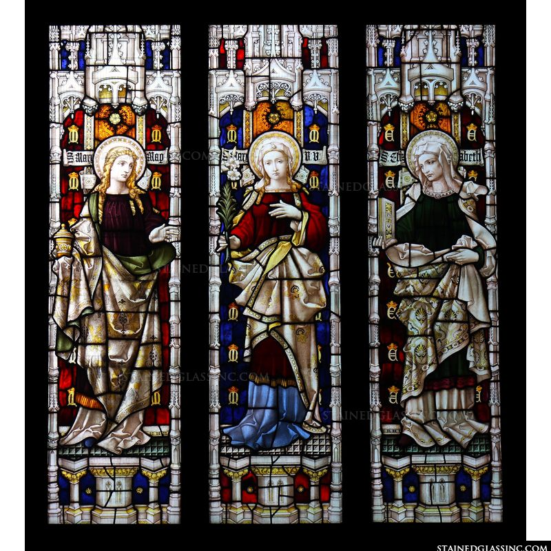 The Three Women: Mary Magdalene, The Blessed Virgin Mary and St Elizabeth
