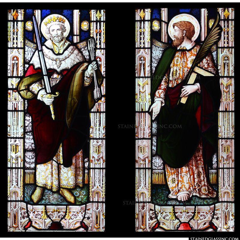 St Edmund and St Thomas