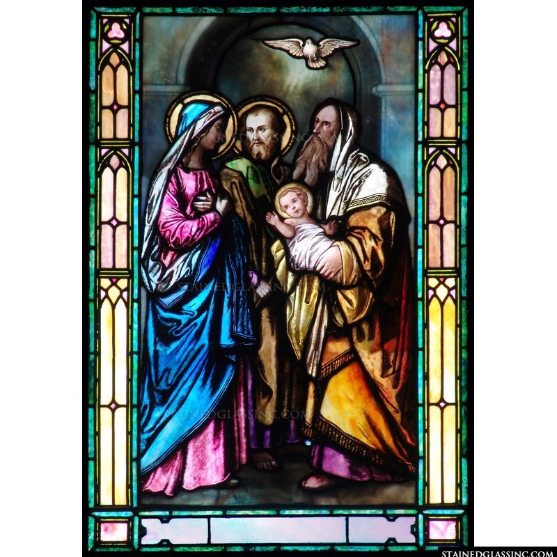 Simeon Blessing the Holy Family