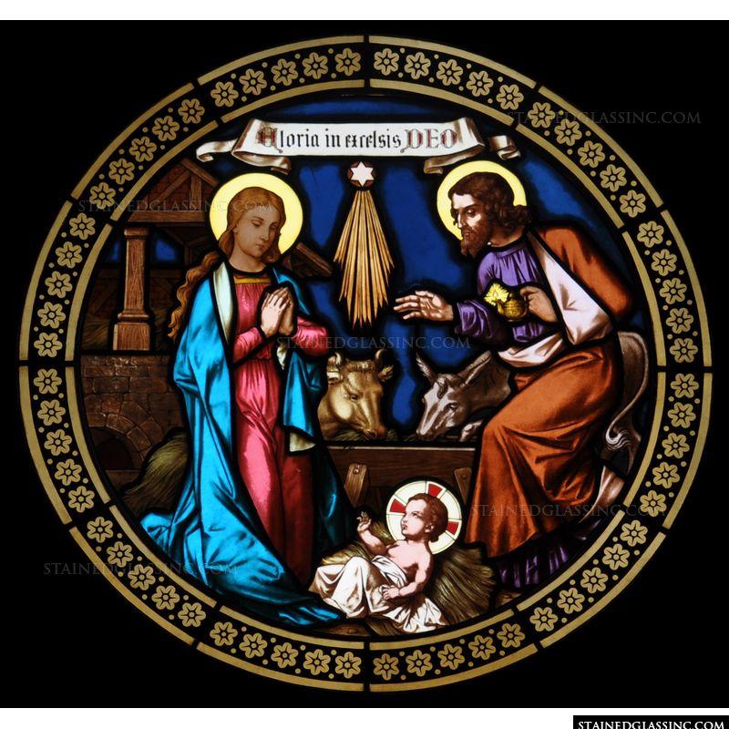 Stable Nativity Scene
