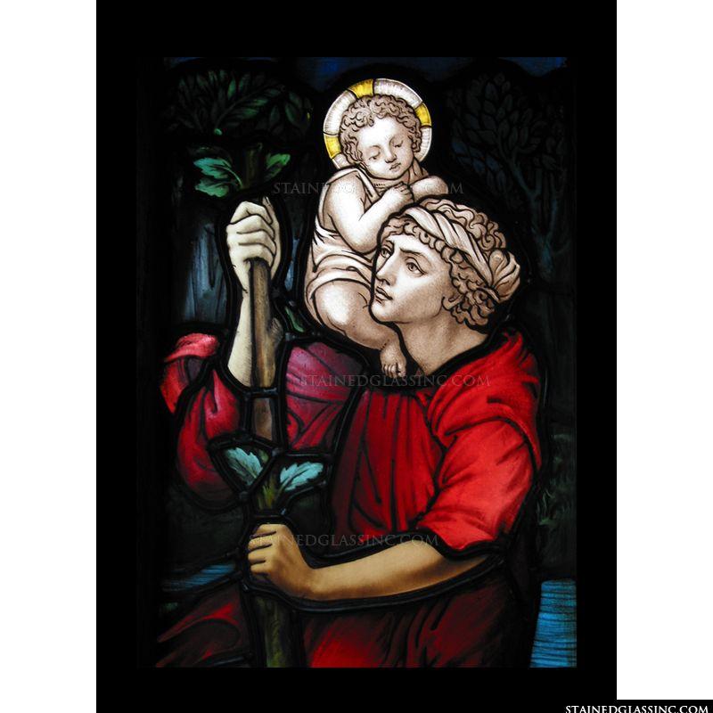 Christ Child on Shoulder