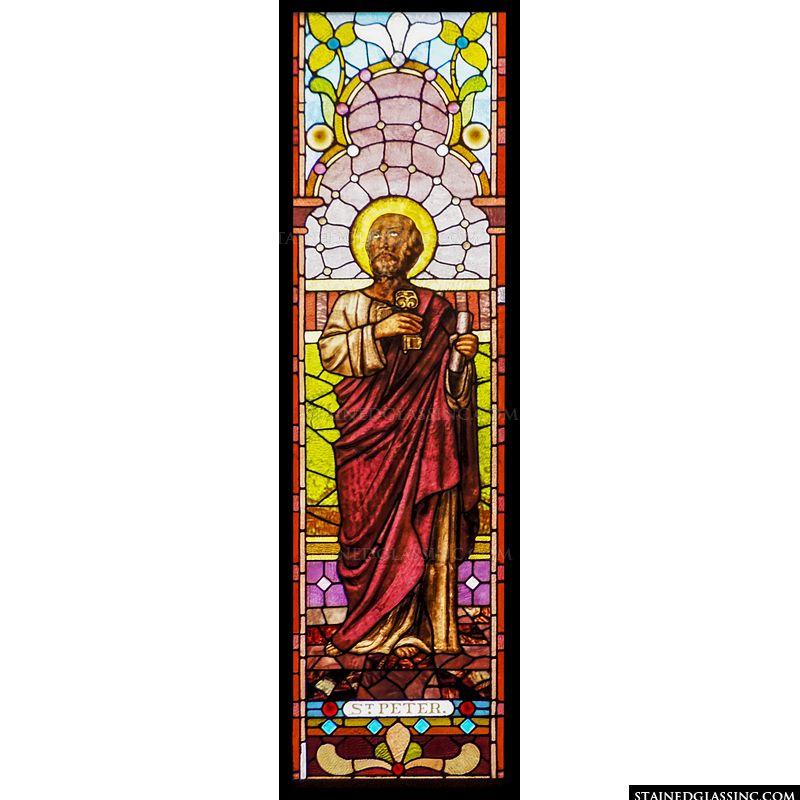 St. Peter looking Heavenward