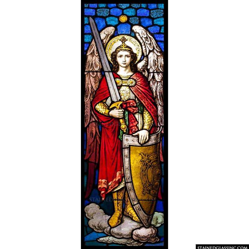 Archangel with Sword and Shield