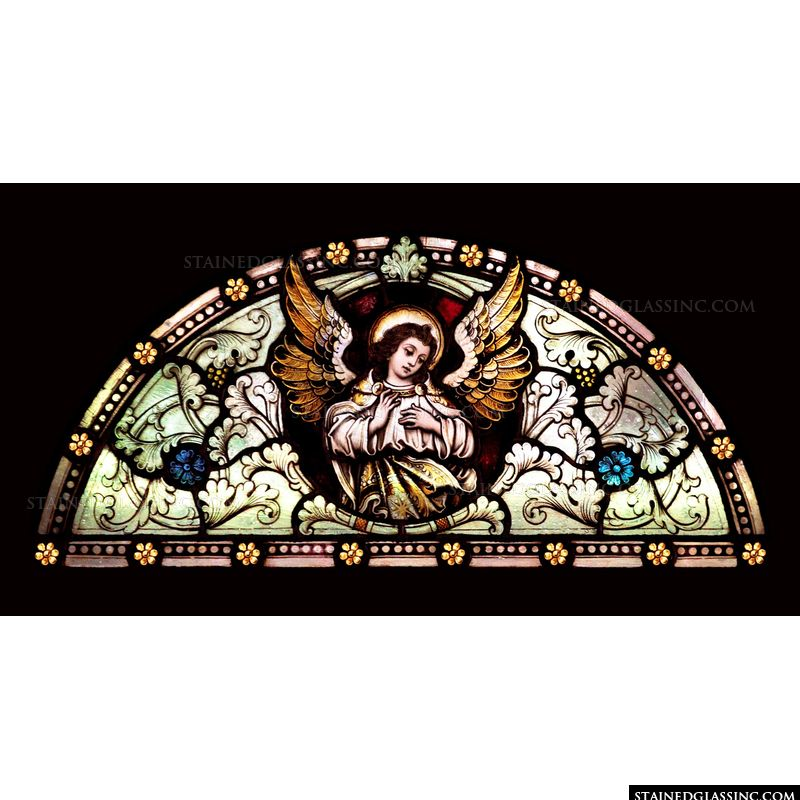 Angel Transom Window