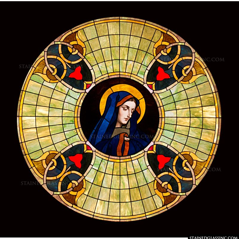 Mary Round Window