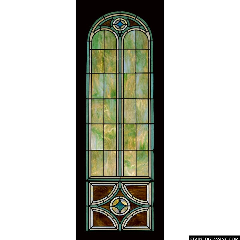 Narrow Arched Window