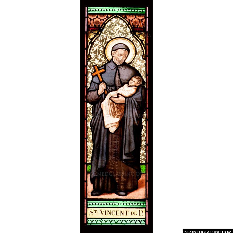 Saint Vincent de Paul Stained Glass