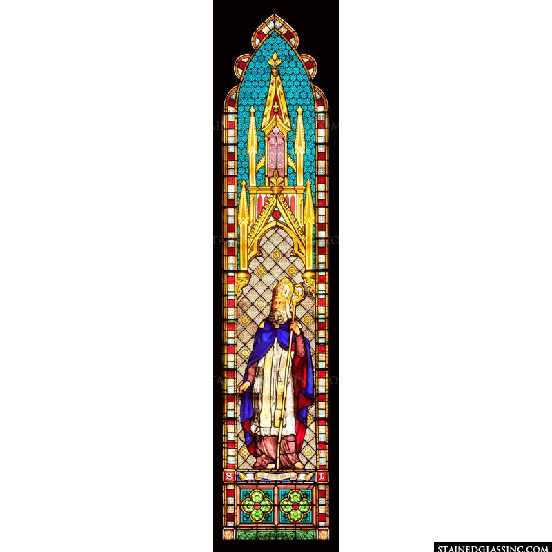 Saint Denis Stained Glass Window