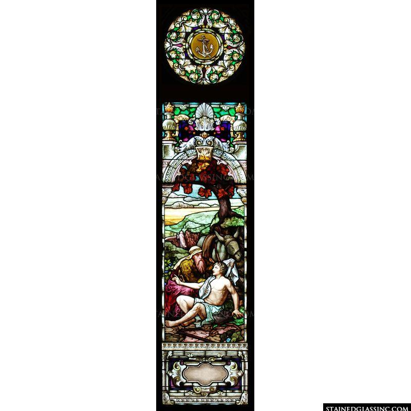 Good Samaritan Stained Glass