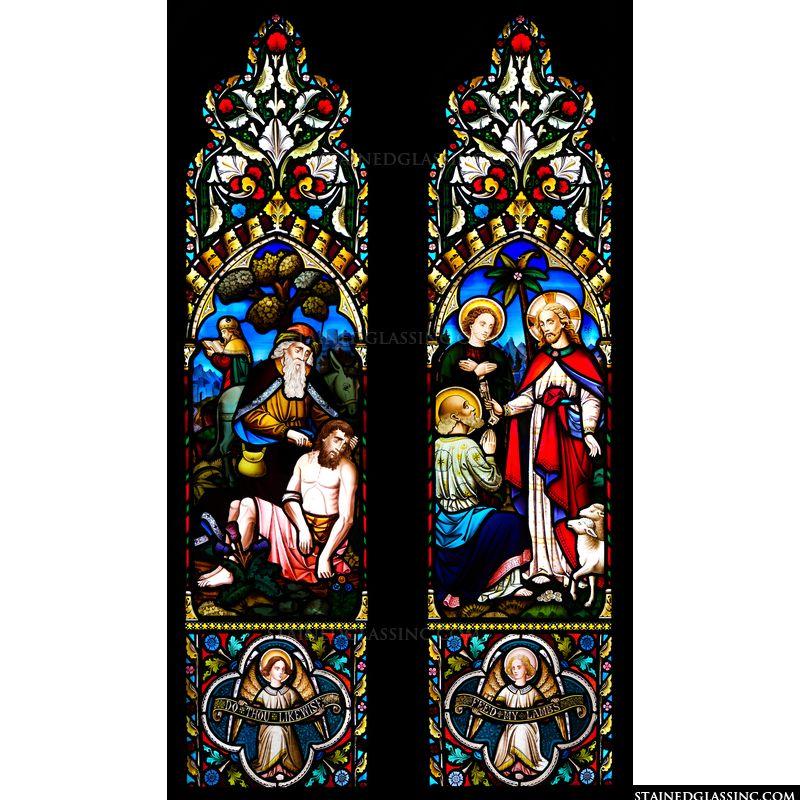 The Good Samaritan and St. Peter