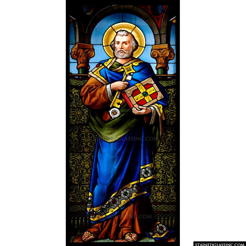 St. Peter in a Blue Robe