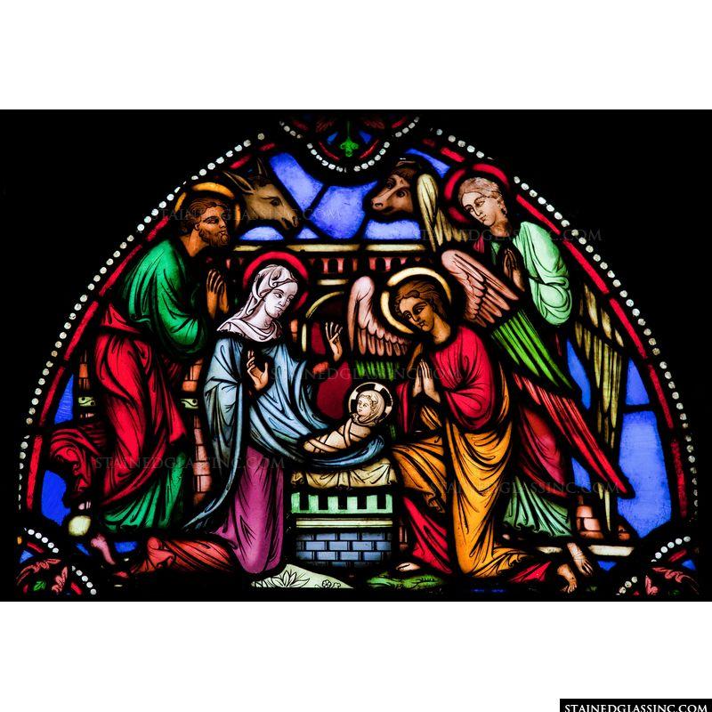 Nativity Transom