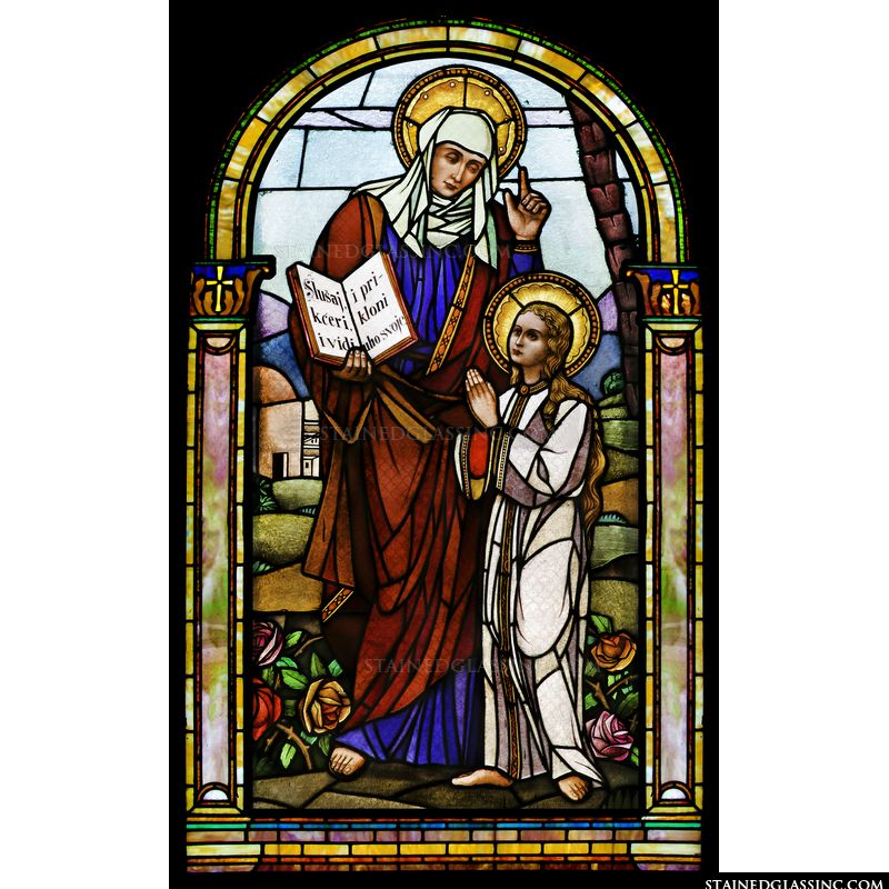 St. Anne Teaching Virgin Mary