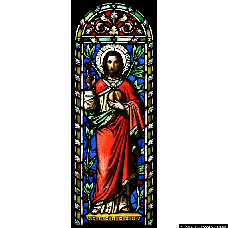 Christ in a Crimson Robe