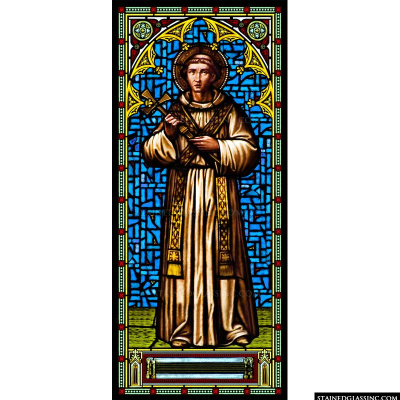 St. Francis Holding a Cross