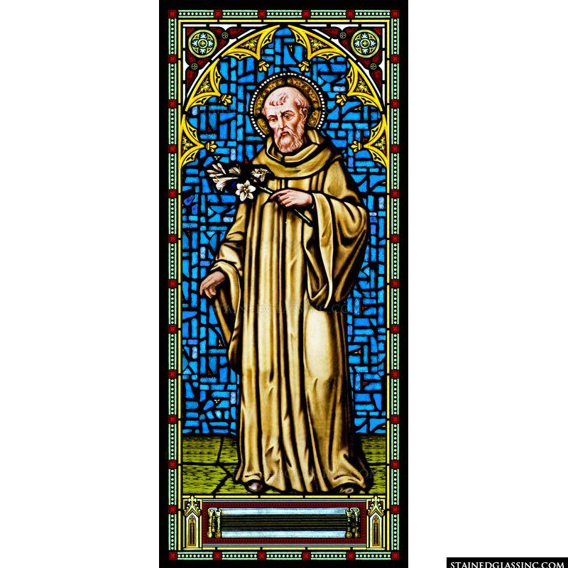 St. Joseph Holding Lilies