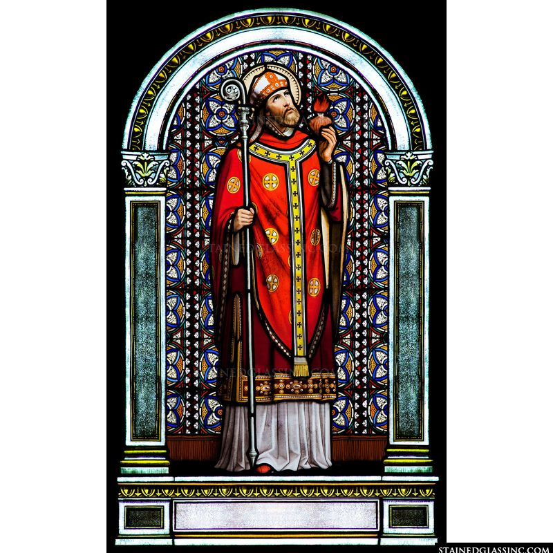 St. Augustine With Sacred Heart
