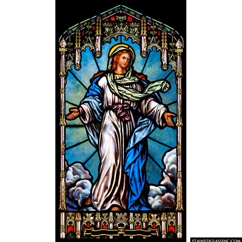 Mother Mary Taken up to Heaven