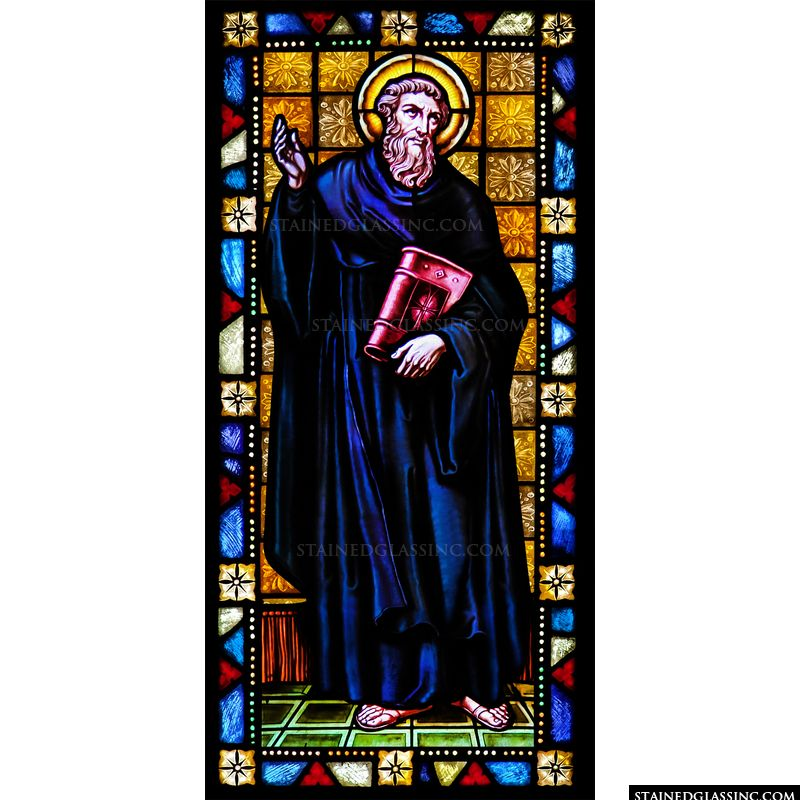 St. Augustine With Blue Robe