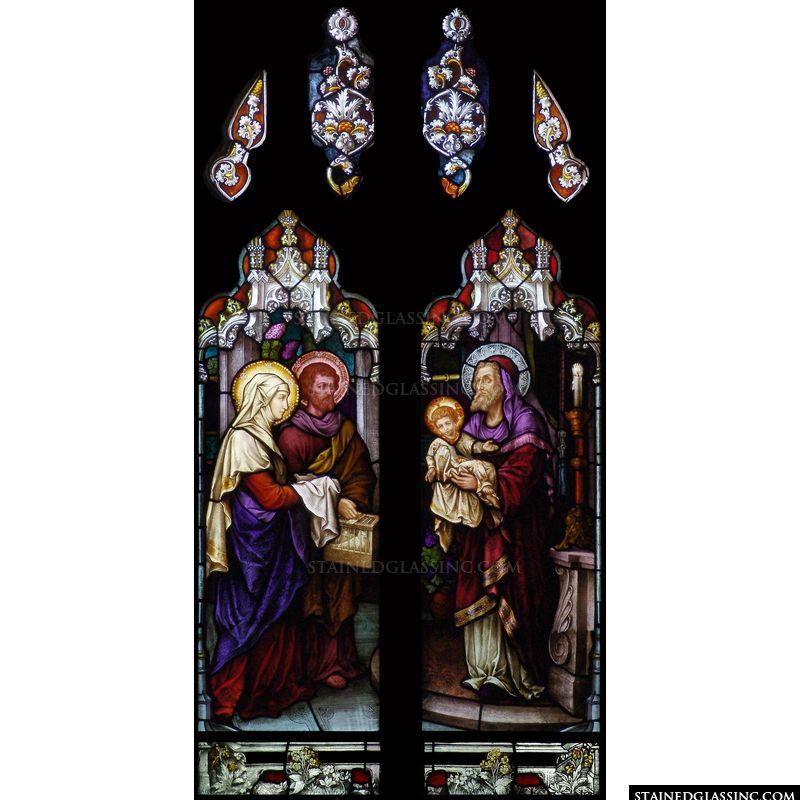 Jesus with Simeon