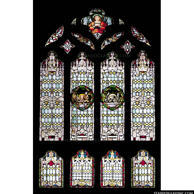 Symbols of Evangelists Luke and John