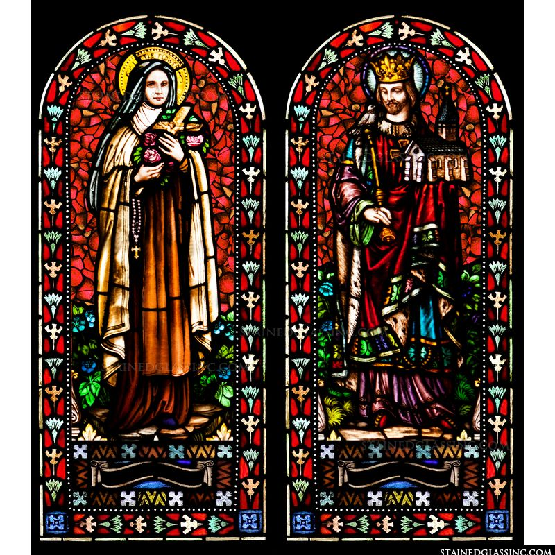St. Therese of Lisieux & St. Edward the Confessor