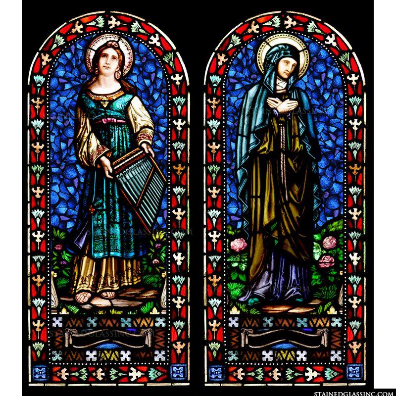St. Cecilia & St. Monica