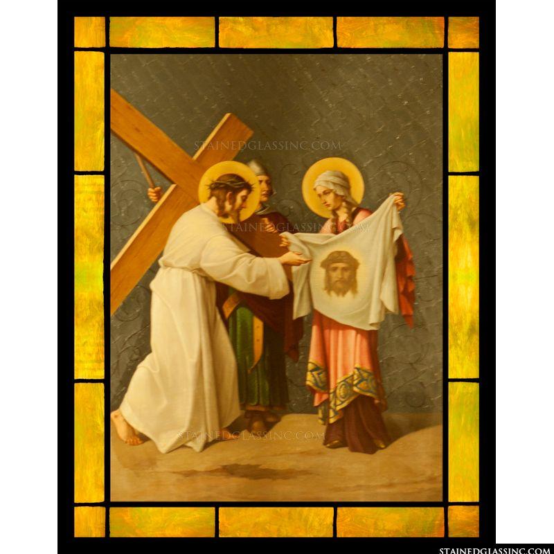 Veronica's Veil and Jesus
