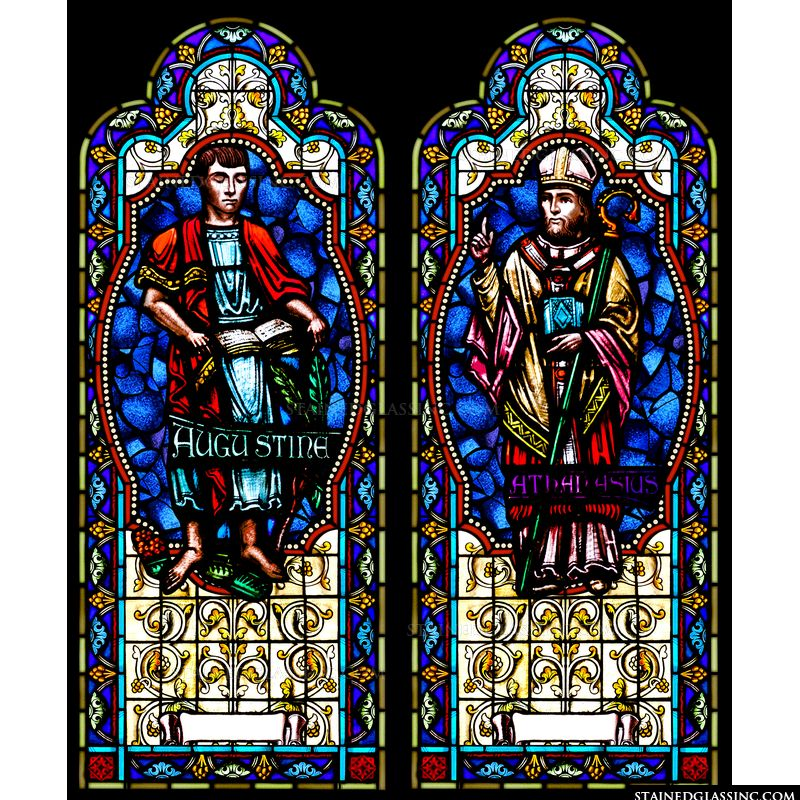 Saints Augustine and Athanasius